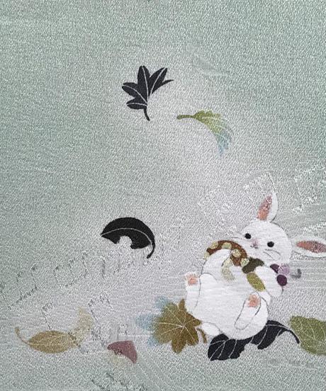 染め名古屋帯「風と戯れて」  SOLD OUT  4-001