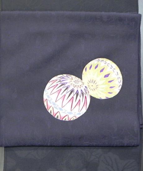 染め名古屋帯「手毬」(税込み・仕立て代込み) 3-004