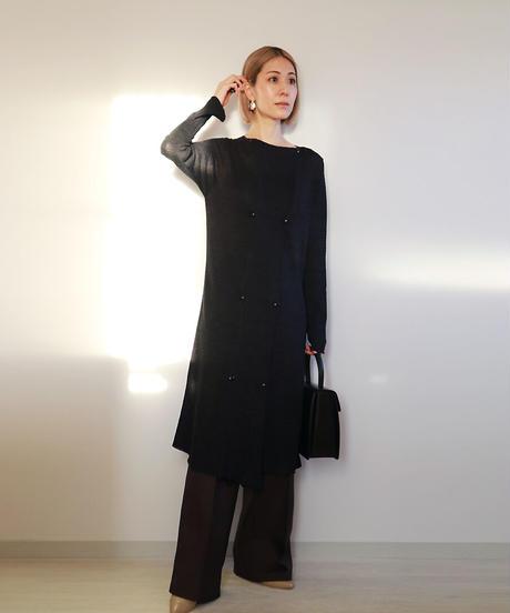 ◆Mサイズ即納◆Celbalrai[ケルバルライ] ロング丈ダブル・ジャケット2 / ブラック