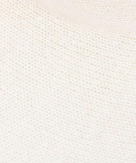 ◆即納◆Octans[オクタンス] シルクモヘア・カバー・トップス2 / ホワイト系1