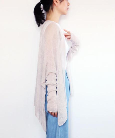 ◆ご予約◆Alwaid[アルワイド] オールカバー袖付きストール / アイシー・グレー