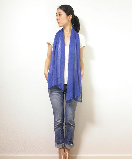 ◆即納◆Ara[アラ] エアリー・ストール / ロイヤル・ブルー