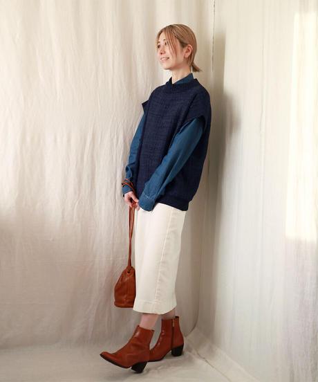 ◆即納◆Nunki[ヌンキ] ボクシー・ベスト3 / ブルー系1 / Mサイズ