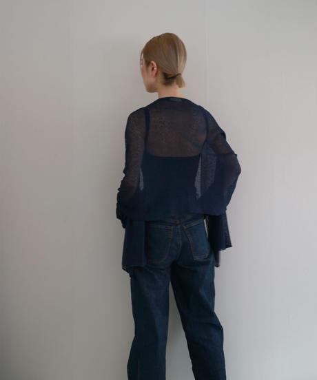 ◆即納◆Rigel[リゲル] 袖付きストール / ネイビー・ブルー