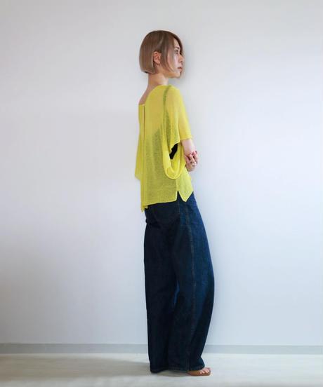 ◆即納◆Taygeta[タイゲタ] カバー・カーディガン / ブルー・イエロー
