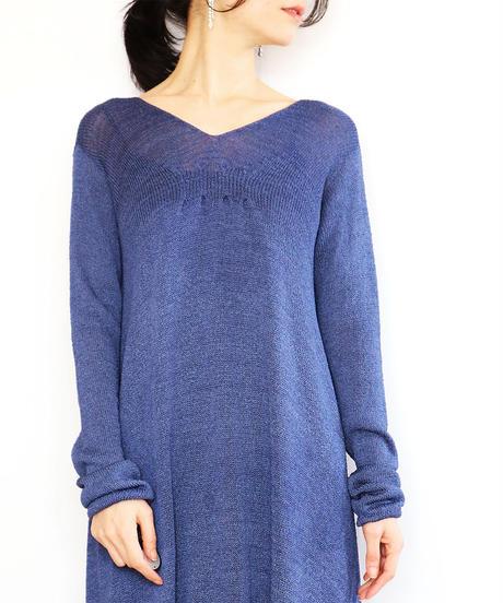 ◆即納◆Celaeno[ケラエノ] タック・ワンピース / ナイト・ブルー / Mサイズ