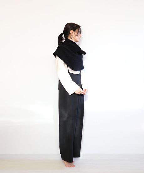 ◆即納◆Muphrid[ムフリド] シルクモール・スヌード・ケープ3 / ブラック