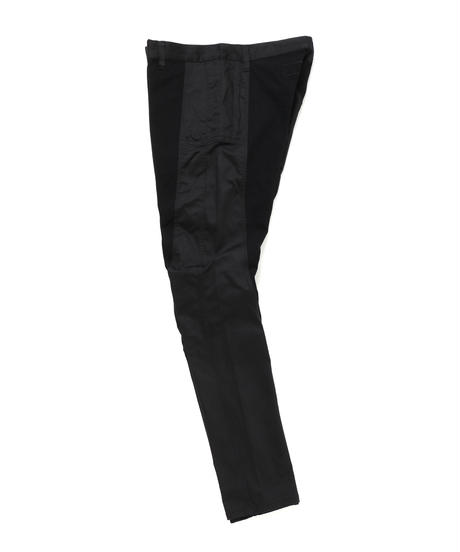 TIGHT FIT STRETCH TROUSERS c/#1 BLACK