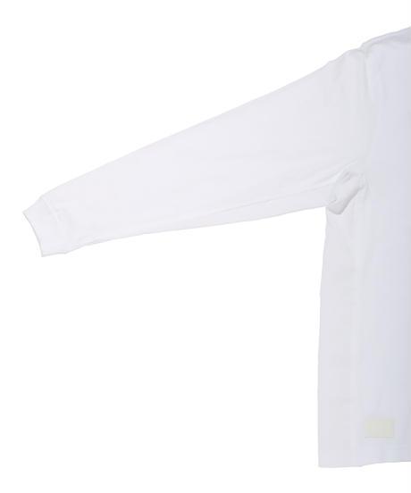 INU SCREEN WIDE L-SLEEVE TEE c/#2 WHITE