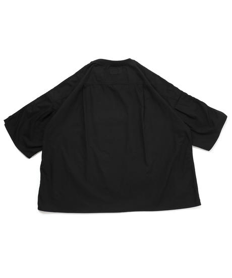 ARMED WIDE SHIRT c/#1 BLACK