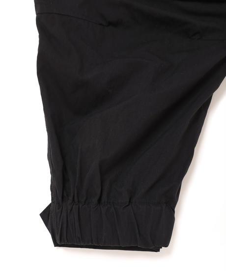 予約終了_ONE-PLEATS CARGO TROUSERS # c/BLACK