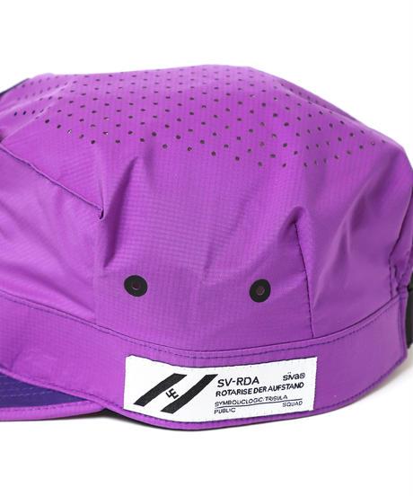 PUNCHING-HOLE BDU CAP # c/PURPLE