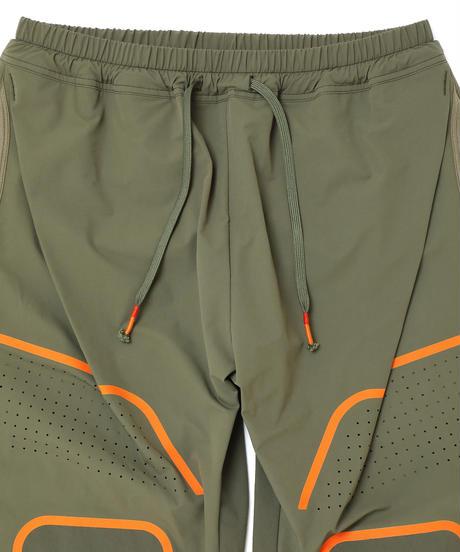 ONE-PLEATS NYLON PANTS # c/KHAKI