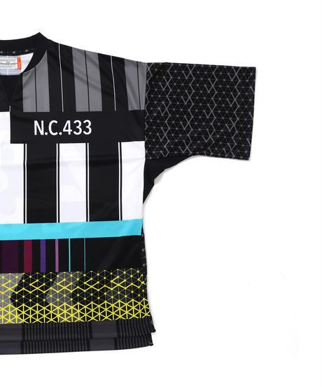 FOOTBALL WIDE SHIRTS # c/ BLACK_stripe