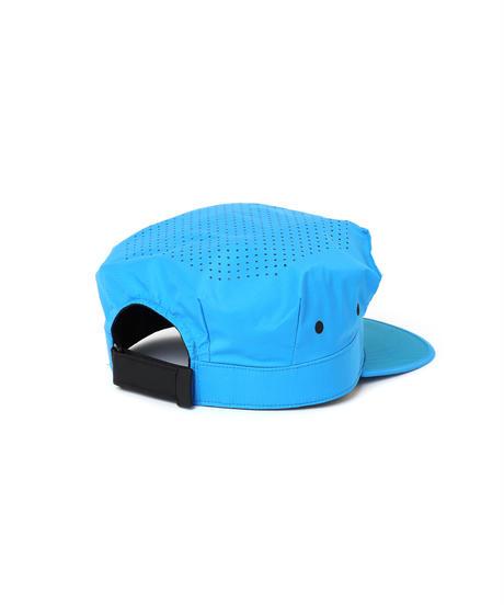 PUNCHING-HOLE BDU CAP # c/AQUA BLUE
