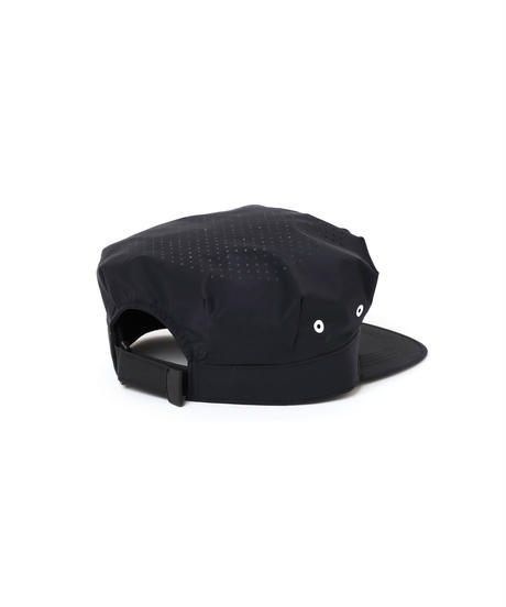 PUNCHING-HOLE BDU CAP # c/BLACK