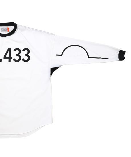 N.C.433 L-SLEEVE # c/ WHITE