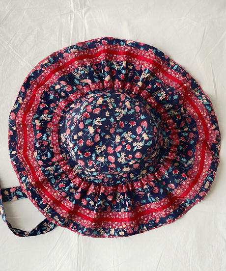 【Sway】<Navy base・Small Flowers> Boonie Hat