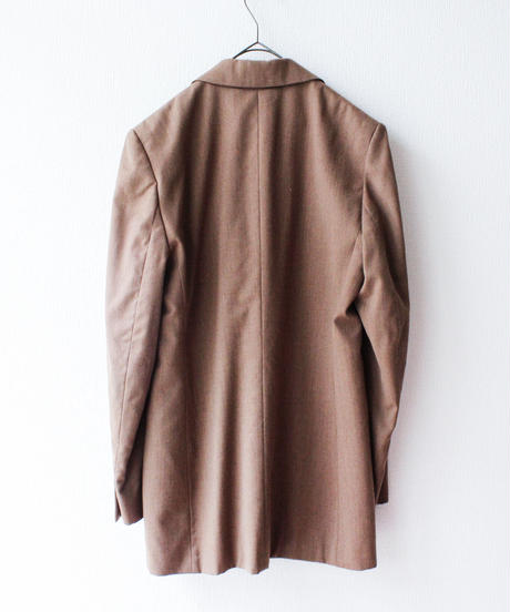 【Seek nur】Brown Wool Tailored Jacket