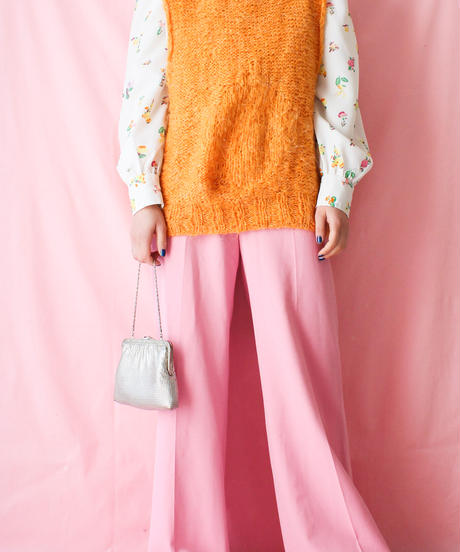 【tiny yearn】1970's Flower Blouse