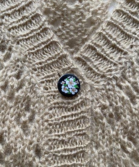 【Sway】Spring eyelet lace cardigan