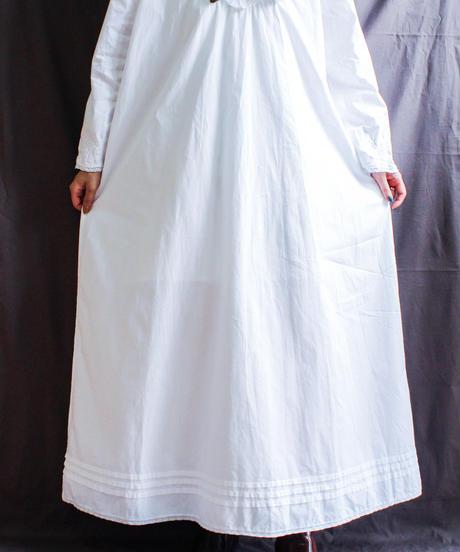 【Seek nur】Embroidery Cotton Long Dress