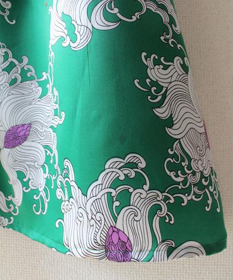 【tiny yearn】W-Germany Flower Maxi Skirt