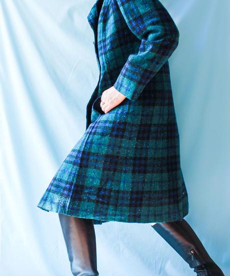 【tiny yearn】PENDLETON Check Wool Long Coat