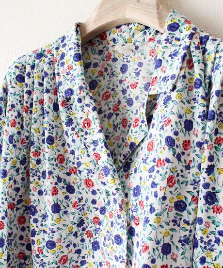【tiny yearn】Euro Flower Dolman sleeve Blouse