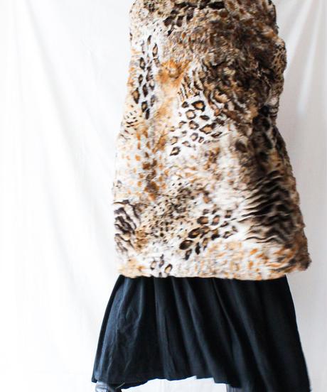 【Seek nur】Germany Leopard Eco Fur Coat