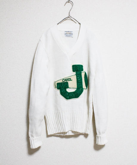 【Seek nur】1970's BPC Bristol Products Varsity Sweater