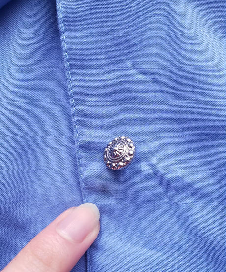 【tiny yearn】Euro Cutwork Frill Over Blouse