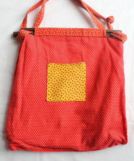 1970's Patchwork  Quilting Bag