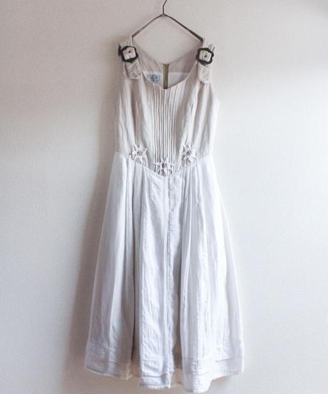 【Seek nur】Euro Linen Tyrol Dress