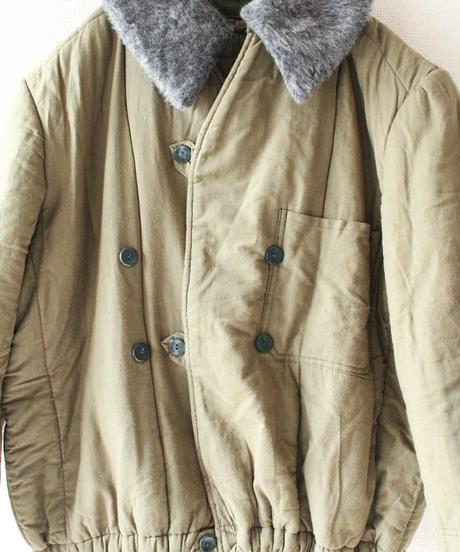 【Seek nur】1980's Hungary Army Flight Liner Jacket