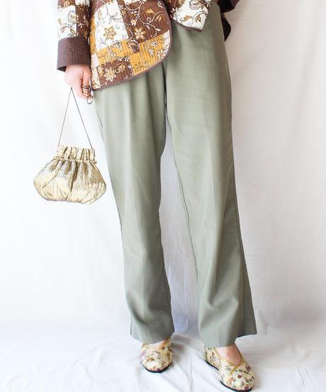 【Seek nur】Moss green Tapered Pants