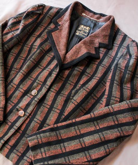 【Seek nur】Euro Check Tailored Tyrol Jacket