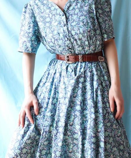 【tiny yearn】Laura Ashley Flower Long Dress