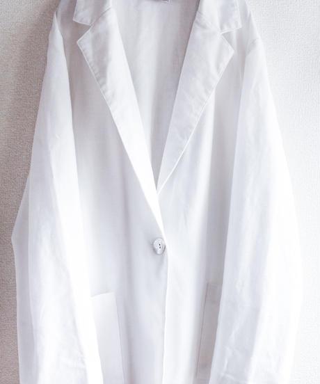 【Seek nur】White Over Light Jacket