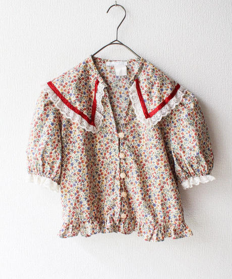 【Sway】〈Little Flowers〉Boonie hat&Blouse Setup