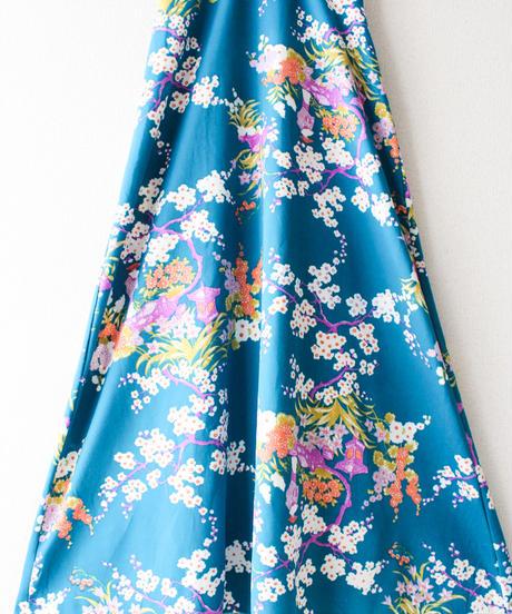 【tiny yearn】1960〜70's Flower Maxi Dress