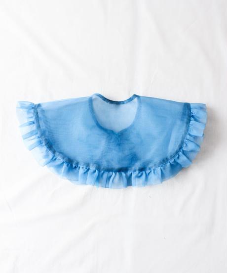 【Original】Organdie attached collar/Blue