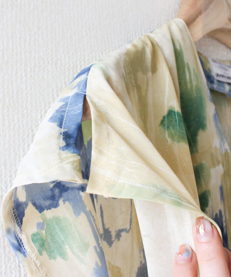 【tiny yearn】Euro Art Pattern Dress