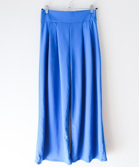 【tiny yearn】Italy Blue Gaucho Pants
