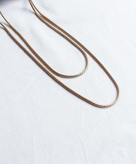 Vintage  Snake chain Necklace