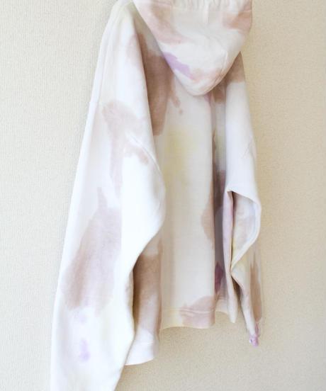 【tiny yearn】Hanes Tie dye Hoodie Sweatshirt/brown