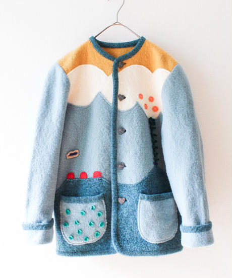 【tiny yearn】Euro Handmade Wool Jacket