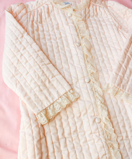 【tiny yearn】1970's Quilting Maxi Night Gown
