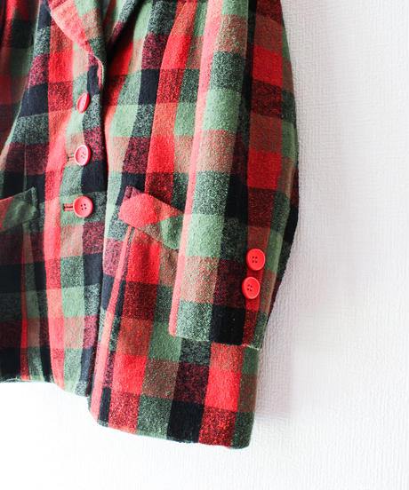 【tiny yearn】Big Check Tailored Jacket