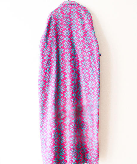 【tiny yearn】Geometric Flower Pile Long Gown